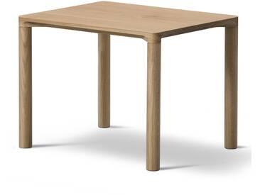 Fredericia Furniture Fredericia - Piloti Sofatisch, 39 x 46,5 cm, Eiche geölt