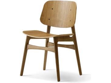 Fredericia Furniture Fredericia - Søborg Stuhl (Model 3050), Eiche geräuchert und geölt