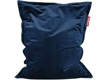 Fatboy - Sitzsack Original Slim Velvet, dunkelblau