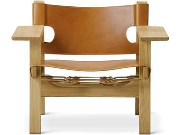 Fredericia Furniture Fredericia - Spanish Chair, Eiche geölt / Leder Cognac
