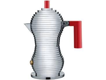Alessi - Pulcina Espressokocher, 15 cl / rot