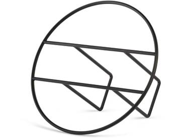 Umbra - Hoop Zeitschriftenhalter, schwarz