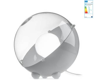 Koziol - Orion Bodenleuchte, grau / transparent