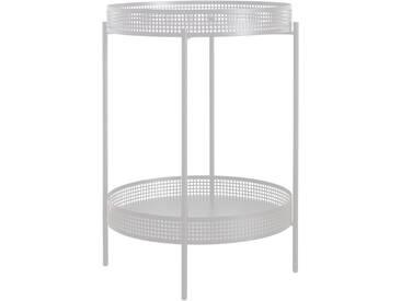 OK Design - Ami Beistelltisch, Ø 40 x H 59,5 cm, weiß
