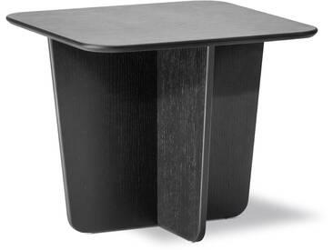 Fredericia Furniture Fredericia - Tableau Beistelltisch 52 x 52 cm, Eiche schwarz lackiert