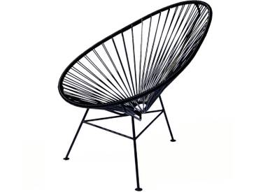 OK Design - The Acapulco Chair, schwarz