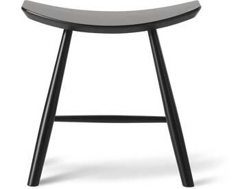 Fredericia Furniture Fredericia - J63 Hocker Buche, schwarz