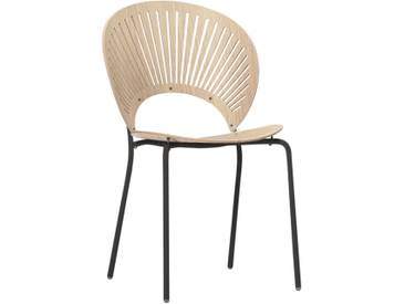 Fredericia Furniture Fredericia - Trinidad Stuhl, Eiche / schwarz