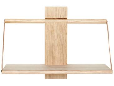 Andersen Furniture - Wood Wall Hängeregal, 45 x 20 x H 32 cm, Eiche