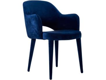 Pols Potten Chair Arms Cosy Stuhl Blau