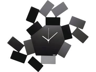 Alessi La Stanza Dello Scirocco Uhr Schwarz