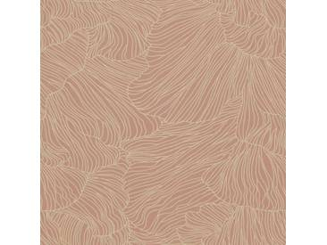 Ferm Living Coral Tapete Dusty Rose/Beige