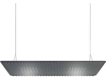 Artemide Eggboard Matrix Akustische Pendelleuchte 160x80 Grau