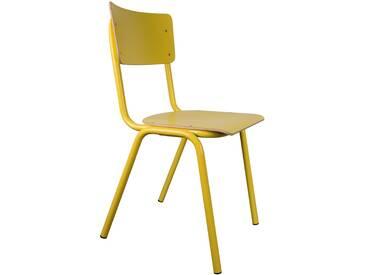 Zuiver Back To School Stuhl Gelb