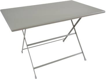 Emu Arc En Ciel Tisch Rechteckig Grau 110x70