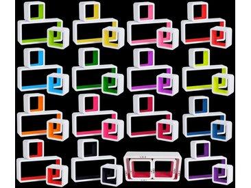 Wandregal 3er-Set Lounge Cube