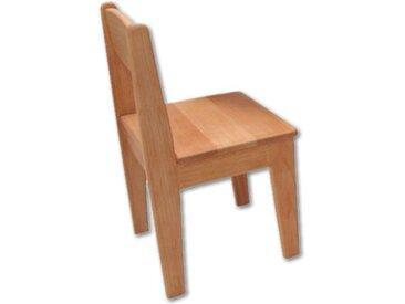 Kinderstuhl Holz Buche geölt Sitzhöhe 26 cm Stuhl für Kinder mass