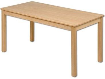 Kindertisch Holz rechteckig Buche Kindergarten massiv Tisch Kinde