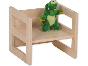 Kinderhocker Holz Wendehocker Kinder Buche Kinderstuhl mit Armleh
