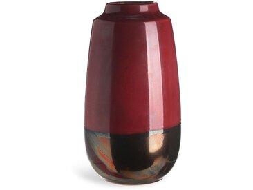 Vase TwoTone, Keramik, D:17cm x H:31cm, rost