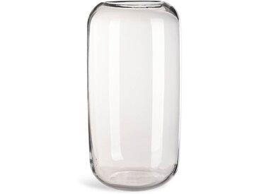 Vase Lia, Glas, D:19cm x H:39cm, klar