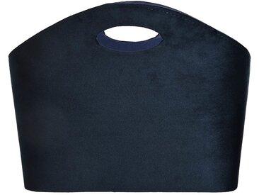 Zeitungskorb, Fsc® 100%, 40x30x30cm, dunkel-blau