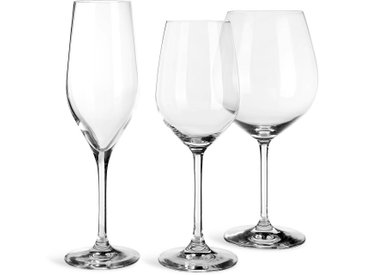 Gläser-Set Grand Gourmet, 18-teilig, klar