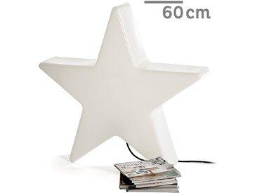 XXL Outdoorlampe Leuchtstern, D:60cm, weiß