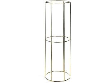 XL-Vasengestell, D:23,5cm x H:70cm, gold