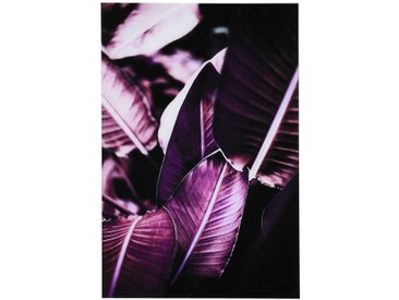 Acrylglasbild Red Leaves, B:40cm x L:60cm, violett
