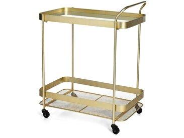 Barwagen, 61x38x76cm, gold