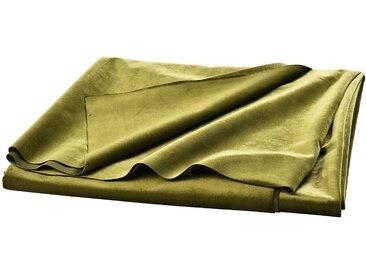 Samt-Dekostoff, L:300cm x B:150cm, moosgrün