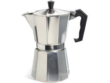 Espressomaker für 6 Tassen, silber