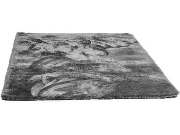Teppich hochflor, L:133cm x B:190cm, grau