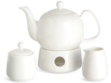 Geschirrset Pure Teatime, 4-teilig, weiß