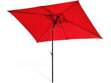 Sonnenschirm rechteckig, L:2m x B:3m, rot