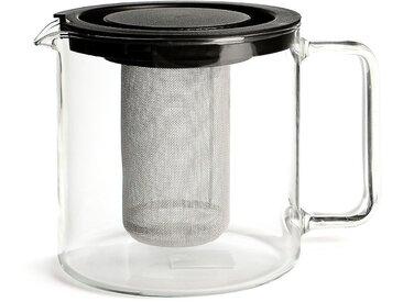 Teekanne mit Metallsieb, 1,3l, klar