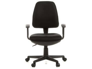 Bürostuhl / Drehstuhl CITY 10 Netzstoff schwarz hjh OFFICE