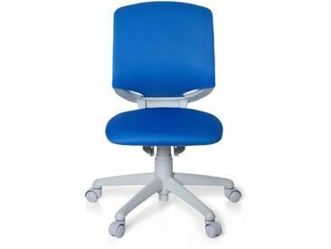 Kinderschreibtischstuhl / Kinderstuhl KID MOVE GREY blau/grau hjh OFFICE