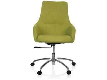Bürostuhl / Drehstuhl SHAKE 100 Stoff grün hjh OFFICE