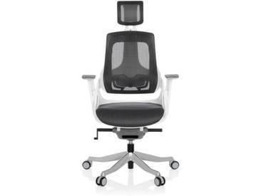 Bürostuhl / Drehstuhl SPEKTRE Netz grau hjh OFFICE