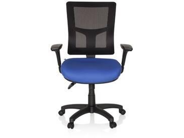Bürostuhl / Drehstuhl IMPACT PRO Stoff blau hjh OFFICE