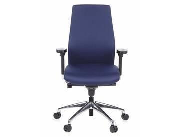 Bürostuhl / Chefsessel SKAVE 200  dunkelblau hjh OFFICE