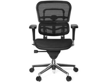 Bürostuhl / Chefsessel ERGOHUMAN BASE Netzstoff schwarz hjh OFFICE