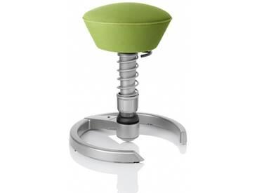Bürostuhl / Arbeitshocker SWOPPER AIR Lime-Green mit Kombigleiter titan