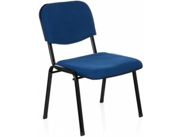 Konferenzstuhl / Besucherstuhl / Stuhl XT 600 XL blau hjh OFFICE