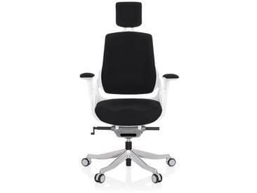 Bürostuhl / Drehstuhl SPEKTRE Stoff schwarz hjh OFFICE