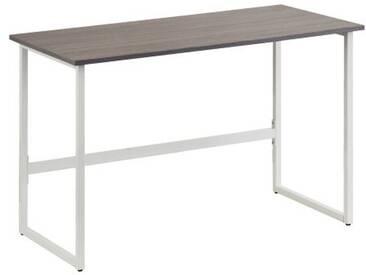 Schreibtisch / Computertisch WORKSPACE LIGHT Grau / Weiß hjh OFFICE