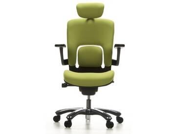 Bürostuhl / Drehstuhl VAPOR LUX Stoff grün hjh OFFICE