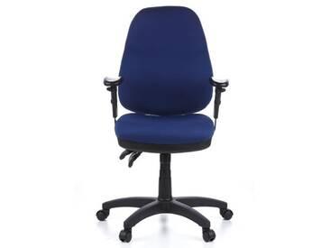 Bürostuhl / Drehstuhl ZENIT PRO Stoff blau hjh OFFICE